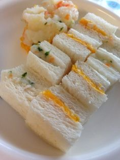 離乳食☆赤ちゃん用2種のサンドイッチ*
