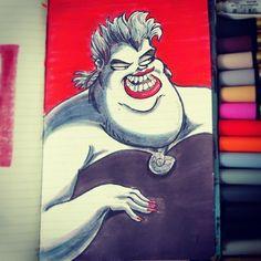 @Sketch_Dailies #sketch_dailies #ursula