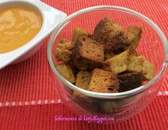 Le thermomix de Kitty: Croutons grillés (nature ou épicés)