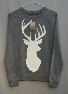 Hipster, Antler, Sweater.