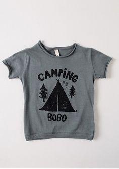 Cute kids camping sweatshirt. for little wyatt bobo.