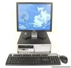 computadoras hp, usb,monitor 17 ,cpu 2gb ram,pc, para cyber