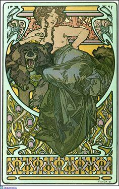 Alphonse Mucha - Documents Decoratifs.