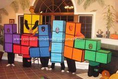 Coolest Tetris Group Costume 2
