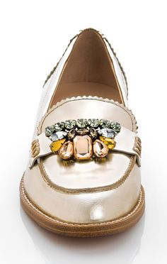 jewel shoe clips - cute idea