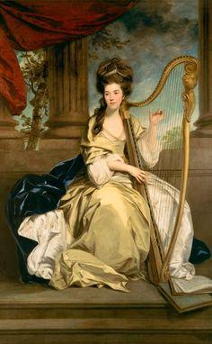 """""""The Countess of Eglinton"""" (1777) von Sir Joshua Reynolds (geboren am 16. Juli 1723 in Plympton bei Plymouth, Grafschaft Devon, England, gestorben am 23. Februar 1792 in London), einer der bekanntesten und einflussreichsten englischen Maler des 18. Jahrhunderts."""