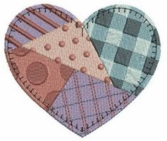 Creative Patchwork 10 - 4x4 | Valentine's Day | Machine Embroidery Designs | SWAKembroidery.com Ace Points Embroidery