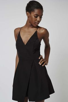 Strappy Bonded Mini - Dresses - Clothing - Topshop