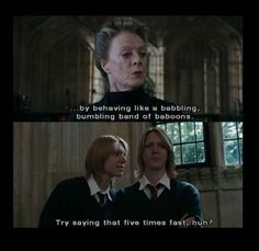 And their child-like behavior was exactly what you love about the pair.   28 Reasons Fred And George Are The Best Characters In The Harry Potter Series