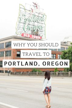Travel for four days to Portland, Oregon in the USA's Pacific Northwest.