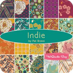 Indie Yardage Pat Bravo for Art Gallery Fabrics - Fat Quarter Shop