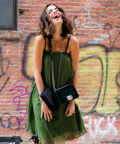 No Man Repelling Here! Check Out Leandra Medine's New Clothing Collab