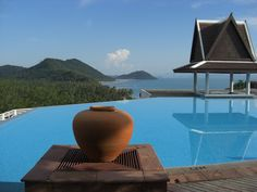 Ko Samui Island, Thailand - the Baan Taling Ngam Resort's Pool (photo by Peggy Mooney)