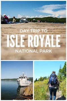 Day Trip to Isle Royale National Park, an island located on Lake Superior. The island is located in Michigan waters, but we took a boat from Grand Portage, Minnesota! | http://wanderthemap.com/2015/11/day-trip-to-isle-royale-national-park/