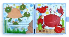 "great jellyfish & other ocean creatures...Развивающая книжка ""В океане"" - Рукоделие - Babyblog.ru"