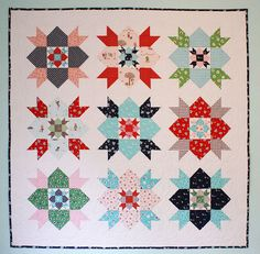 Country Fair Quilt Pattern PDF by alittlesweetness on Etsy