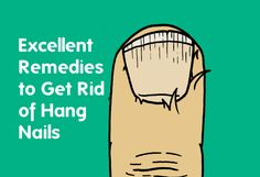 Hang nails can get infected quickly, Fortunately, there are some quick remedies you can dish up at home to get rid of hang nails Dry Cuticles, Nail Problems, Beauty Hacks Nails, Nail Infection, Nail Cuticle, Homemade Beauty, How To Get Rid, Pain Relief