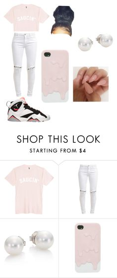 """Saucin"" by charlotte470 on Polyvore featuring FiveUnits, Retrò and Mikimoto"