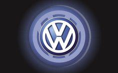 Vw logo | Volkswagen Logo Wallpaper 3D