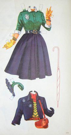 Paper Dolls Carmen Miranda Fashion Clothing