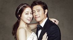 Real Life #Kdrama Couples   Lee Byung Hun and Lee Min Jung