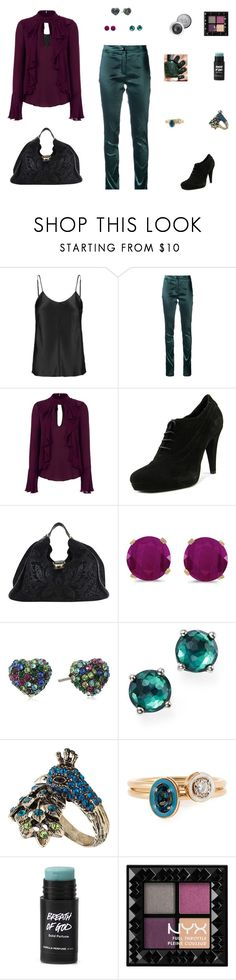"""Working for the Weekend"" by emily-nelson-abentroth ❤ liked on Polyvore featuring ADAM, Ann Demeulemeester, Cinq à Sept, Mauro Fedeli, Gucci, BillyTheTree, Betsey Johnson, Ippolita, Accessorize and Alison Lou"