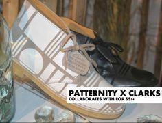 Patternity x Clarks Ben Akhtar London on the Inside