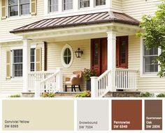 Exterior House Color Schemes choosing house paint color combinations | house paint color