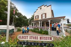 "At the Oldest Store Museum, our friendly clerks and snake oil salesmen will keep you amused as they demonstrate the latest inventions for turn-of-the-century ""modern"" living. Only in St. Augustine, Florida!"