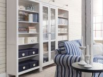 Hemnes Glass Door Bookcase and Shelves. Living Room Furniture - Sofas, Coffee Tables & Inspiration - IKEA