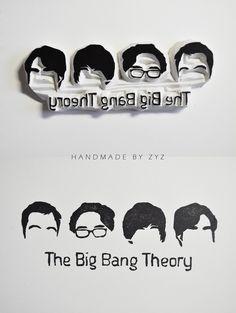 The Big Bang Theory fun! #TheBigBangTheory #stamp #stamping