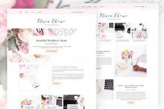 SALE - Olivia - Feminine Blog & Shop by Miss Blogger on @creativemarket