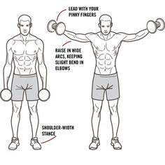Side lateral raise form
