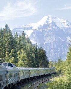 "See the ""Take a Train Trip: Canada"" in our Alternative Honeymoon Ideas gallery"