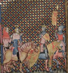Manuscript:Bodley 264 - Romance of Alexander  Folio:51 Location:England Dating:1338 - 1344 Institution:Bodleian Library