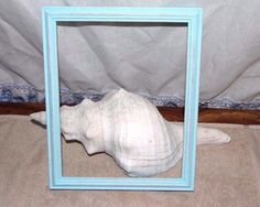 Distressed whitewash Wood Picture Frame 8 x 10 inches tabletop.