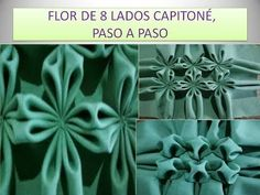 FLOR DE 8 LADOS CAPITONE PASO A PASO - YouTube