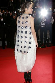 Marion Cotillard in Christian Dior Couture at the Cannes Film Festival 2014