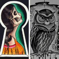 Owl Tattoo Ideas, Owl, Tattoos, Tatuajes, Owls, Tattoo, Japanese Tattoos, A Tattoo, Tattoo Designs