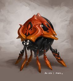 Monster No. 026 by ~Onehundred-Monsters on deviantART