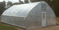Greenhouse Hoop House Gothic Arch DIY Kit Galvanized Steel 20 ft x 32 Ft | eBay