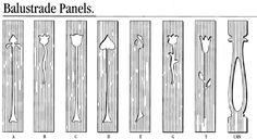 balustrade patterns