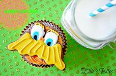 Lorax Cupcake - Ellie's Bites Decorated Cookies