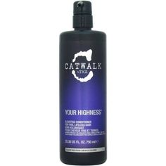 Tigi Catwalk Your Highness Elevating Conditioner for Unisex, 25.36 oz