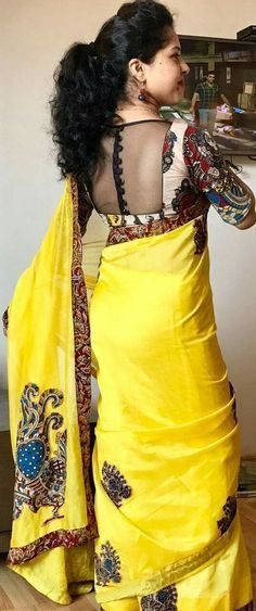 Best Kalamkari Blouse Designs Collections 2018 Are you looking for Kalamkari Blouse designs 2020 collections for your saree? Here is the collection of kalamkari blouse designs for cotton saree,Kerala saree & Kalamkari Blouse Designs, Netted Blouse Designs, Saree Blouse Neck Designs, Simple Blouse Designs, Stylish Blouse Design, Kalamkari Blouses, Simple Blouse Pattern, Indian Blouse Designs, Kerala Saree Blouse Designs