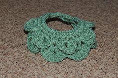 Crocodile Stitch Dog Collar Crochet Pattern - free crochet pattern