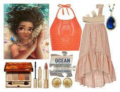"""Moana"" by believe-dream-inspire ❤ liked on Polyvore featuring New Look, LoveShackFancy, Clarins, Dolce&Gabbana, Stila, Drift Away, Mistraya, rag & bone and Chanel"