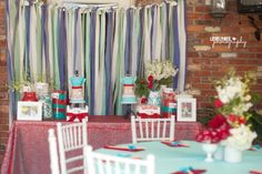 50's Inspired Bridal Shower Floral Decor-Avant Gardens Event Planner-Jackie Ohh Events Props-Unearthed Vintage Photographer-Lovely Bee Photography Cake-Sugar Me Knot