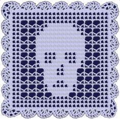 Skull Doily with Brain Slice Edging!-->Free Pattern Link - CROCHET