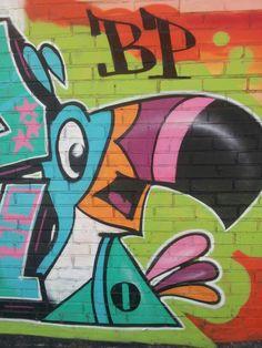 Montreal street art. 6e ave et 7e. Ruelle près de Masson.